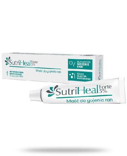 SutriHeal Forte 5% maść do gojenia ran 15 g