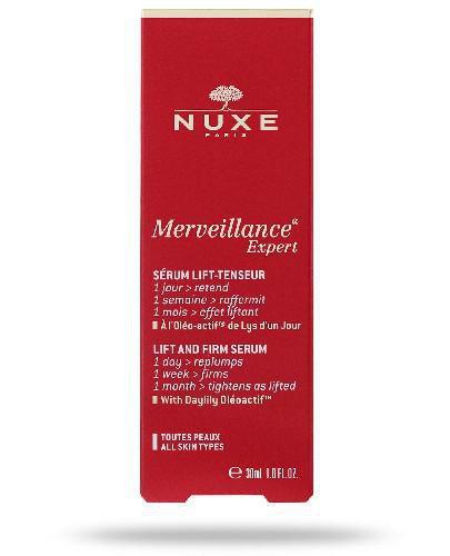 Nuxe Merveillance Expert serum liftingujące i ujędrniające do każdego typu skóry 30 m...
