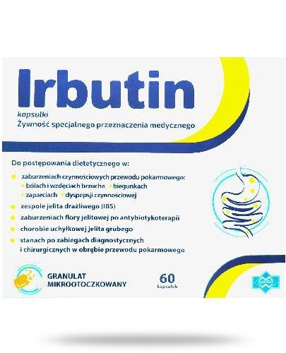 Irbutin 60 kapsułek