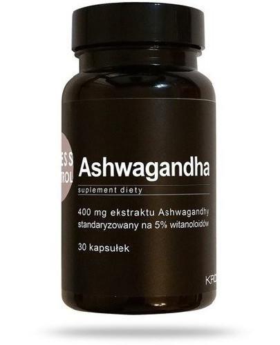 Stress Control Ashwagandha 30 kapsułek  [  whited-out