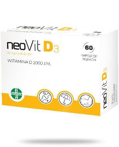 NeoVit D3 2000j.m. witamina D 60 kapsułek