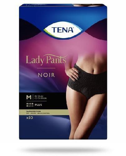 Tena Lady Pants Plus Noir damskie majtki chłonne rozmiar M 30 sztuk