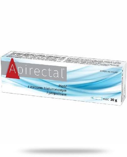 Apirectal maść z kwasem hialuronowym i propolisem 20 g