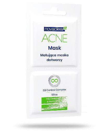 Novaclear Acne matująca maska do twarzy 2x5 ml