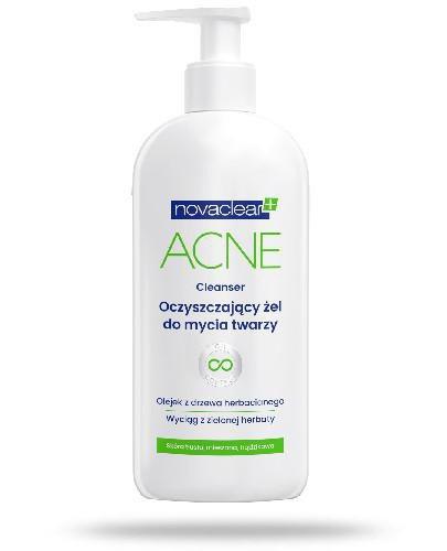 Novaclear Acne oczyszczający żel do mycia twarzy 150 ml