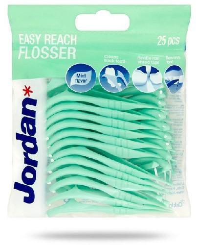 Jordan Easy Reach Flosser nić dentystyczna 25 sztuk