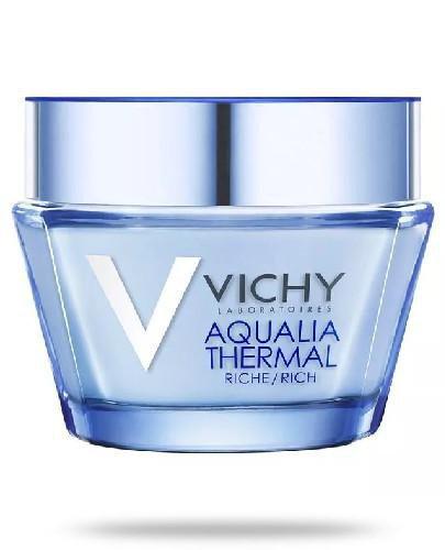 Vichy Aqualia Thermal krem bogata konsystencja na dzień 50 ml + Mineral 89 Probiotic Frac...