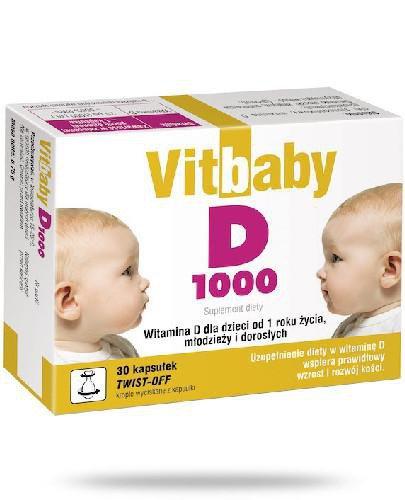 Vitbaby D 1000 30 kapsułek