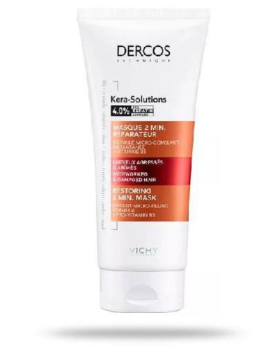 Vichy Dercos Kera-Solutions maska odbudowująca 2-minutowa 200 ml