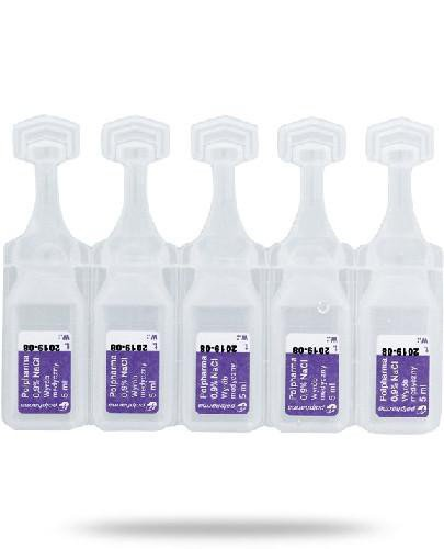 Polpharma 0,9% NaCl izotoniczny, sterylny roztwór chlorku sodu 100 x 5 ml