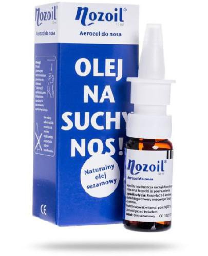 Nozoil aerozol do nosa 10 ml