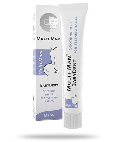 Multi-Mam BabyDent żel na ząbkowanie 15 ml