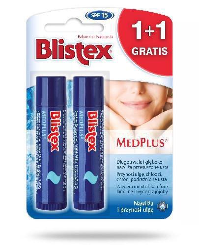 Blistex MedPlus balsam do ust 2 x 4.25 g [DWUPAK]