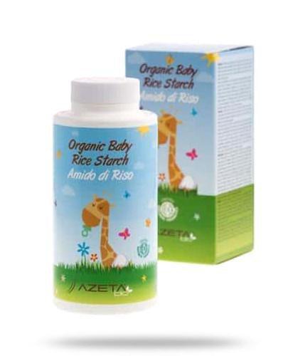 Azeta Bio organiczna skrobia ryżowa do kąpieli dla niemowląt 100 g