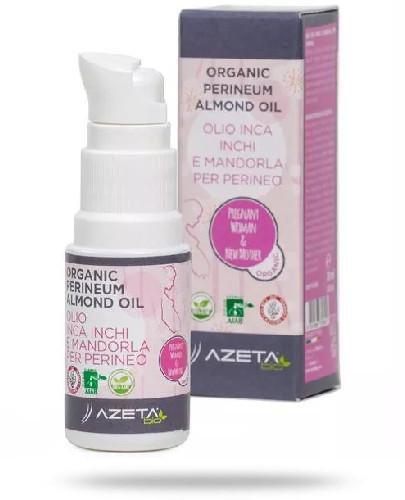 Azeta Bio organiczny olejek do masażu krocza przed porodem 20 ml