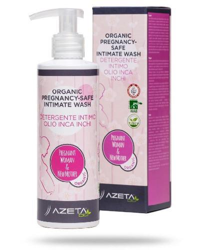 Azeta Bio organiczny żel do higieny intymnej w ciąży 200 ml