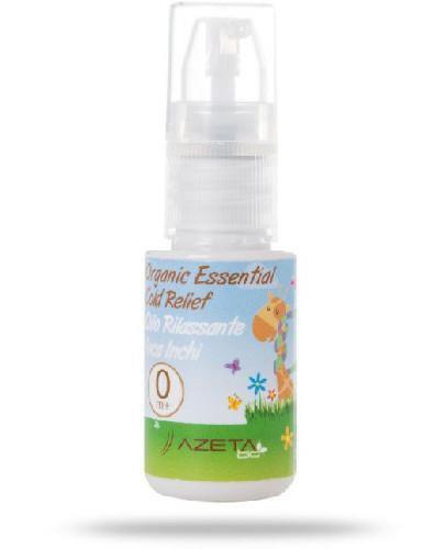 Azeta Bio organiczny olejek na przeziębienia i udrażniający drogi oddechowe dla dziec...