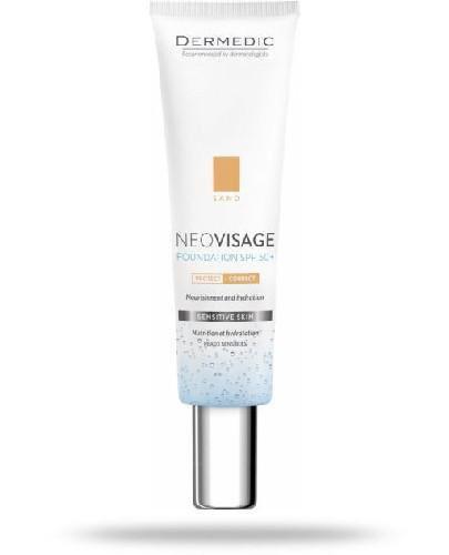 Dermedic Neovisage pielęgnacyjny fluid-krem nawilżający SPF 50 Sand 30 ml