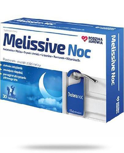 Rodzina Zdrowia Melissive Noc 30 tabletek