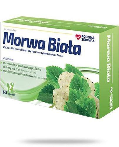 Rodzina Zdrowia Morwa Biała 60 tabletek