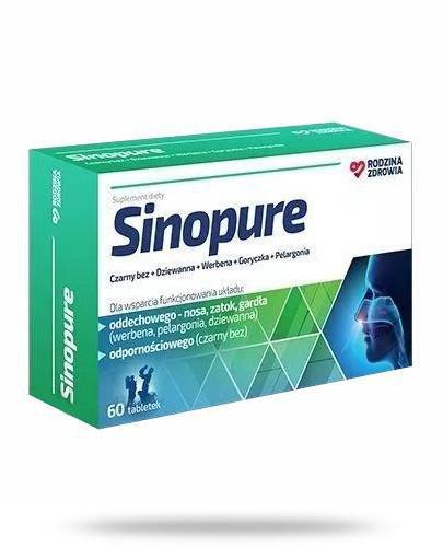 Rodzina Zdrowia Sinopure 60 tabletek