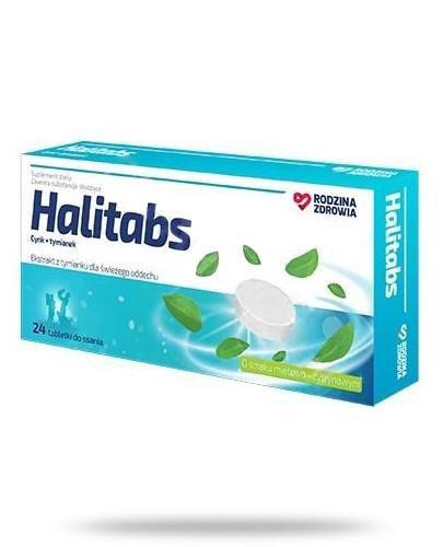 Rodzina Zdrowia Halitabs 24 tabletki do ssania