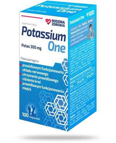 Rodzina Zdrowia Potassium One 100 kapsułek