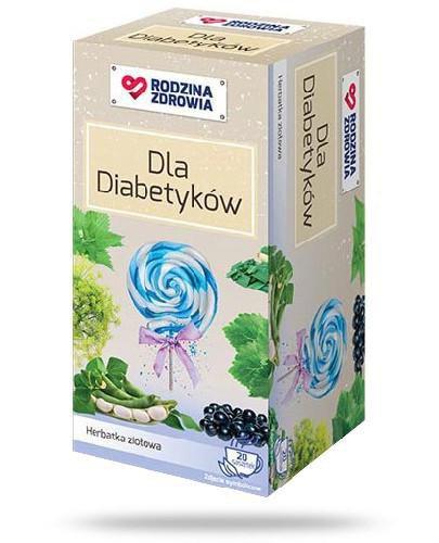 Rodzina Zdrowia Herbatka Dla Diabetyków 20 saszetek