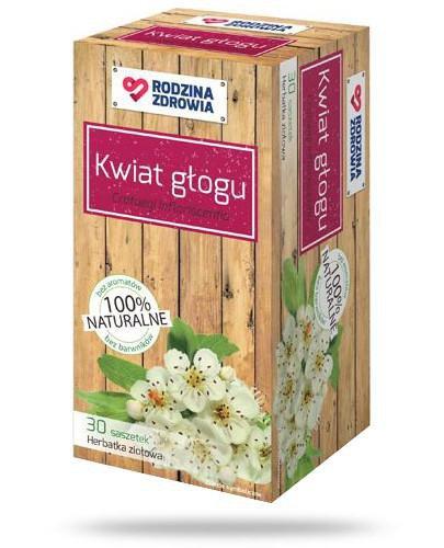 Rodzina Zdrowia Herbatka Kwiat głogu 30 saszetek