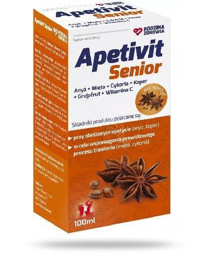 Rodzina Zdrowia Apetivit Senior 100 ml