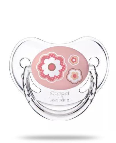 Canpol Babies Newborn Baby smoczek silikonowy anatomiczny 6-18m różowy 1 sztuka [22/566_...