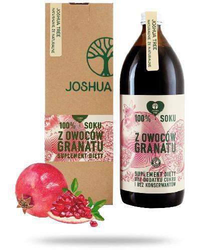 Joshua Tree 100% soku z owoców granatu 500 ml