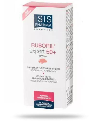 Isispharma Ruboril Expert 50+ Krem do skóry naczynkowej z nadwrażliwością na działani...