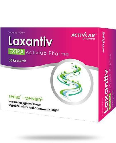 ActiveLab Laxantiv Extra 30 kapsułek