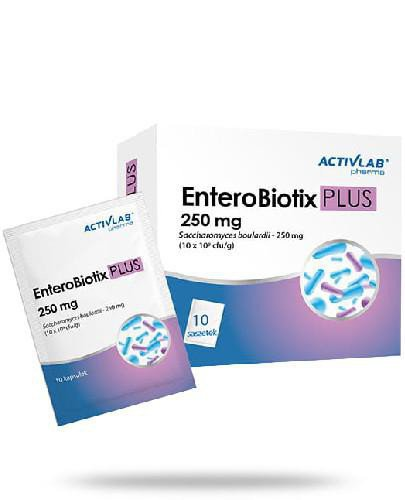 ActivLab EnteroBiotix PLUS 250 mg 10 saszetek
