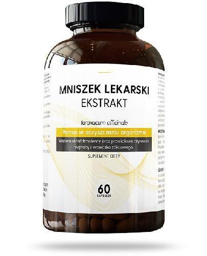 Mniszek Lekarski ekstrakt 60 kapsułek