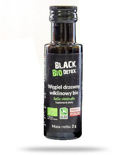 Black Bio Detox węgiel drzewny wiklinowy bio 2 g