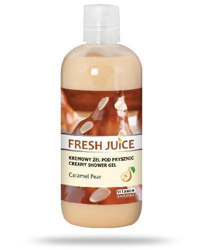 Fresh Juice kremowy żel pod prysznic Caramel Pear 500 ml