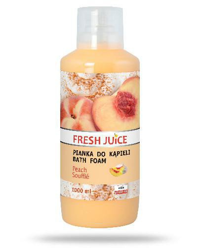 Fresh Juice pianka do kąpieli Peach Souffle 1000 ml