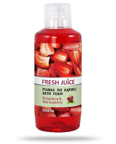 Fresh Juice pianka do kąpieli Strawberry & Red bayberry 1000 ml