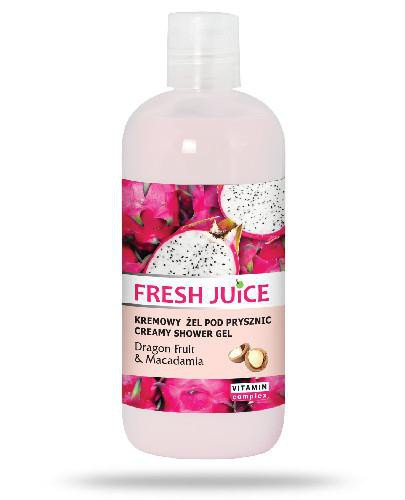 Fresh Juice kremowy żel pod prysznic Dragon Fruit & Macadamia 500 ml