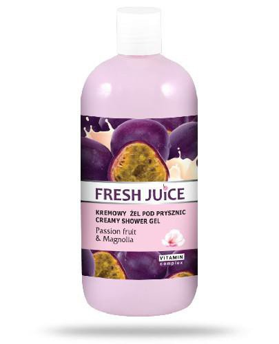 Fresh Juice kremowy żel pod prysznic Passion Fruit & Magnolia 500 ml