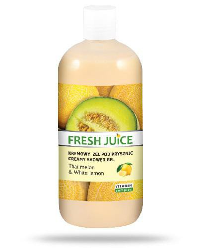 Fresh Juice kremowy żel pod prysznic Thai Melon & White Lemon 500 ml