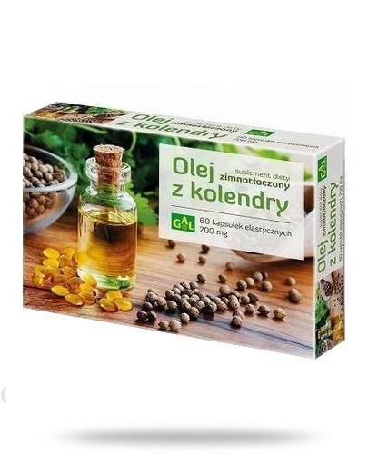 GAL Zimnotłoczony olej z kolendry 60 kapsułek