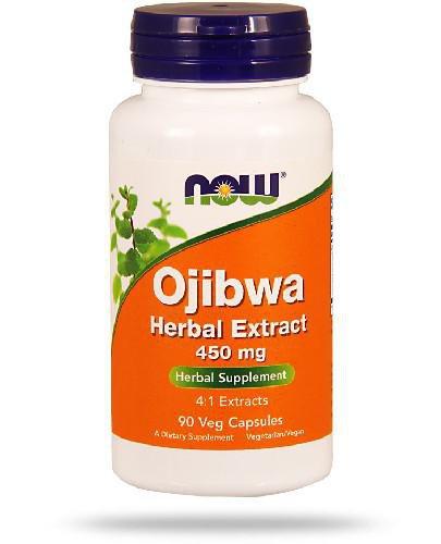 NOW Foods Ojibwa Herbal Extract 450mg 90 kapsułek