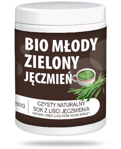 MedFuture Zielony jęczmień Bio Młody sok w proszku 250 g