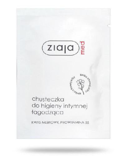 Ziaja Med chusteczka do higieny intymnej łagodząca 1 sztuka