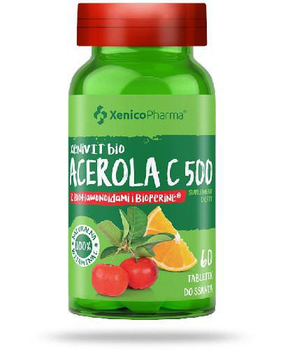 XeniVIT bio Acerola C 500 60 tabletek do ssania