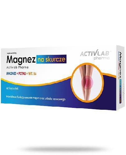 ActivLab Magnez na skurcze 60 kapsułek