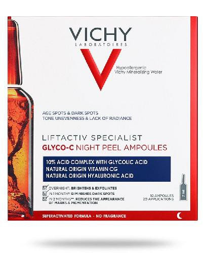 Vichy Liftactiv Specialist Glyco-C ampułki peelingujące na noc 10 x 2 ml